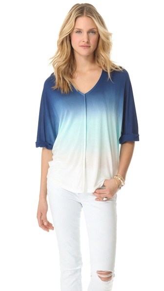 Young Fabulous & Broke Aleen Sunset Ombre Top