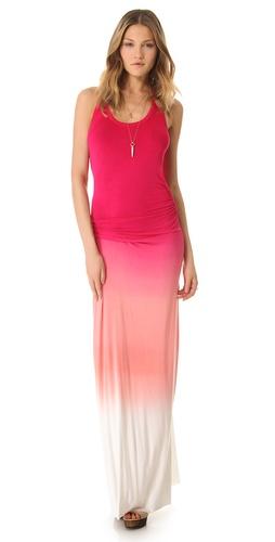 Young Fabulous & Broke Hamptons Sunset Ombre Maxi Dress