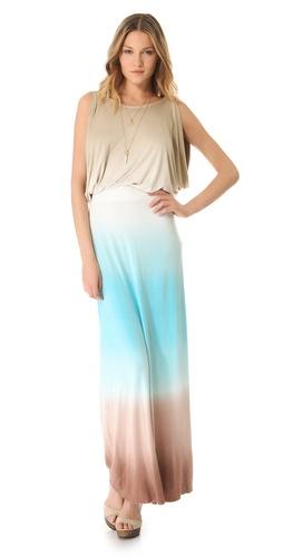 Young Fabulous & Broke Dorinda Triple Ombre Maxi Dress