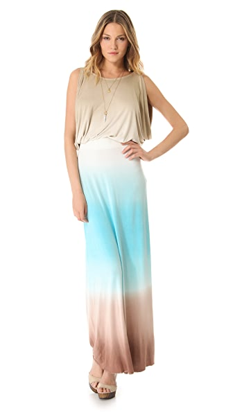Young Fabulous & Broke Dorinda Triple Ombre Maxi Dress