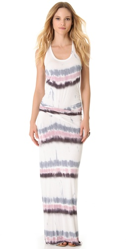 Young Fabulous & Broke Hamptons Drizzle Stripe Maxi Dress