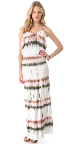 Shop Young Fabulous & Broke Debi Drizzle Stripe Maxi Dress and Young Fabulous & Broke online - Apparel, Womens, Dresses, Day,  online Store