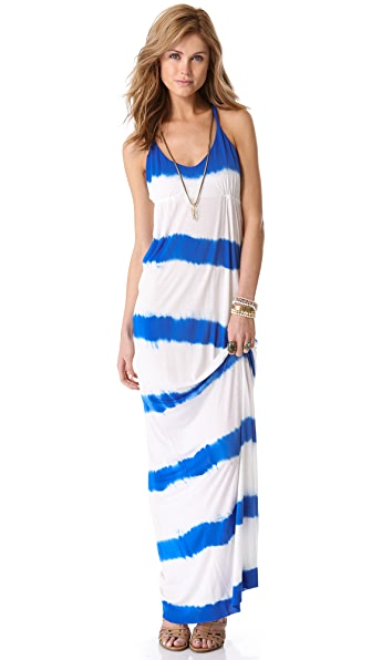 Young Fabulous & Broke Skinny Stripe Maxi Dress