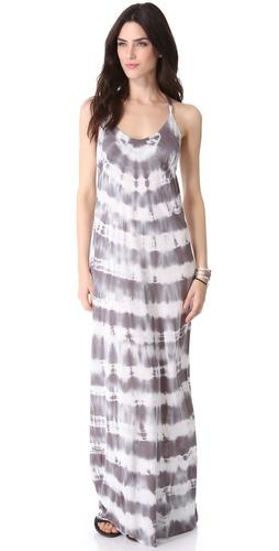 Young Fabulous & Broke Pin Rio Wash Maxi Dress