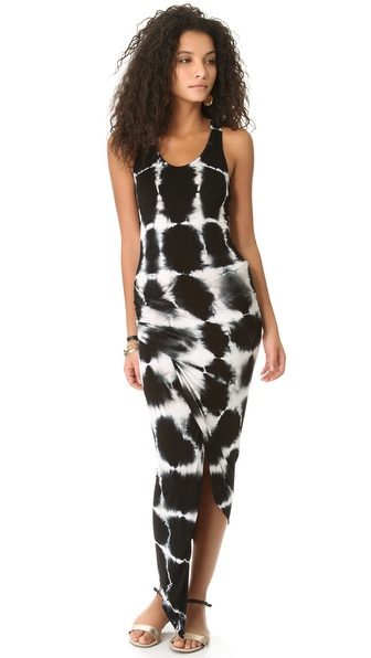 Young Fabulous & Broke Sassy Cross Hatch Maxi Dress
