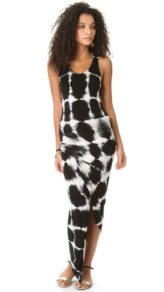 Young Fabulous & Broke Sassy Cross Hatch Maxi Dress