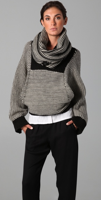 Yigal Azrouel Cropped Sweater
