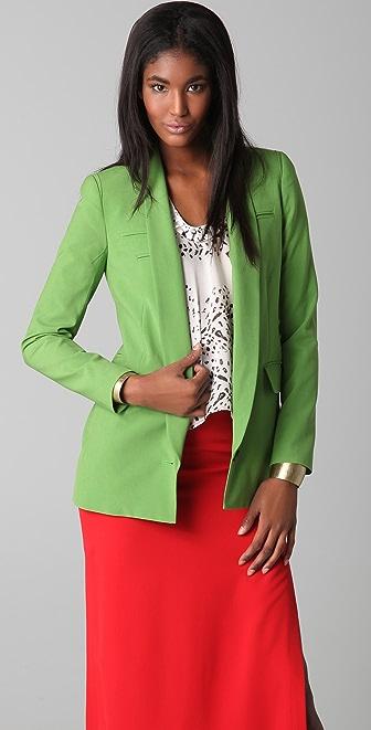 Yigal Azrouel Apple Green Blazer