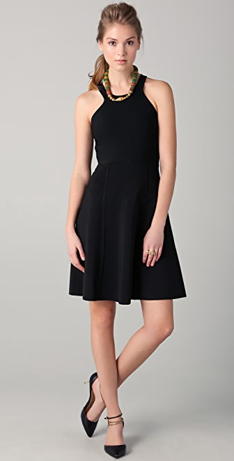 Yigal Azrouel Full Skirt Tech Dress