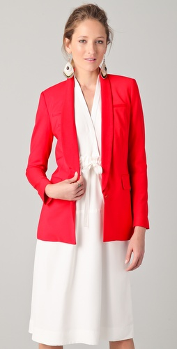 Yigal Azrouel Red Blazer