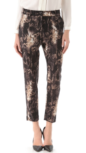 Yigal Azrouel Python Print Pant
