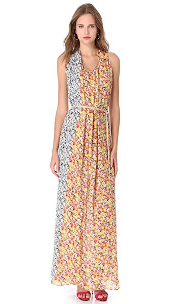 Yigal Azrouel Floral Maxi Dress
