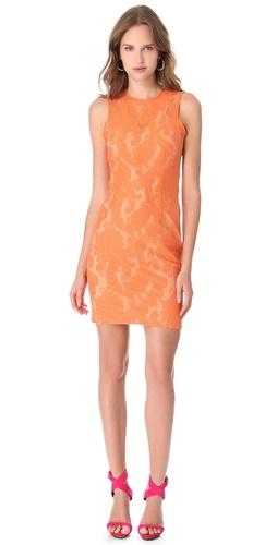 Yigal Azrouel Paisley Lace Dress