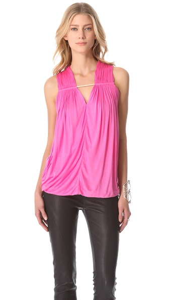 Yigal Azrouel Viscose Jersey Tank