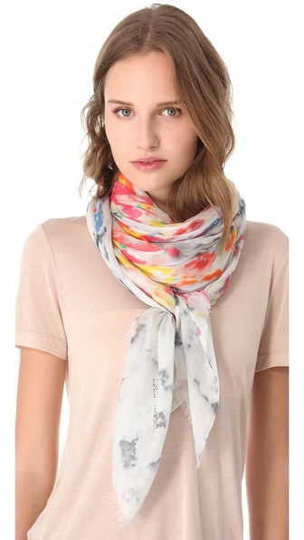 Yigal Azrouel Flourist Print Scarf