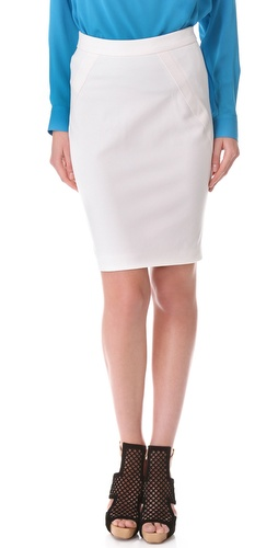 Yigal Azrouel Compact Twill Skirt