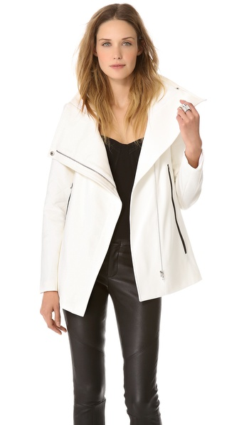 Yigal Azrouel Bi Stretch Tech Jacket
