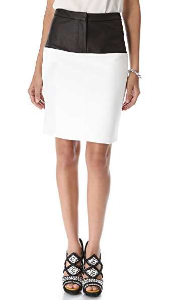 Yigal Azrouel Bi Tech Stretch Skirt