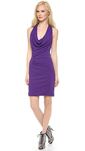 Yigal Azrouel Jersey Racer Back Dress
