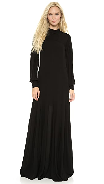 Yigal Azrouel Cape Sleeve Gown