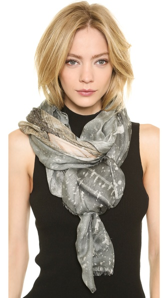 Yigal Azrouel Sweater and Jagger Scarf