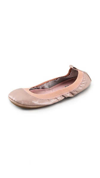 Yosi Samra Elastic Top Line Ballet Flats