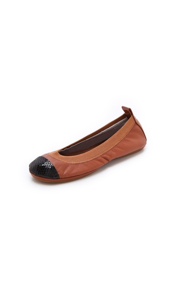 Yosi Samra Cap Toe Ballet Flats