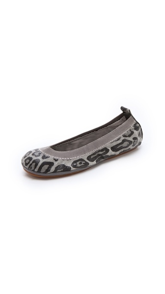 Yosi Samra Snow Leopard Ballet Flats