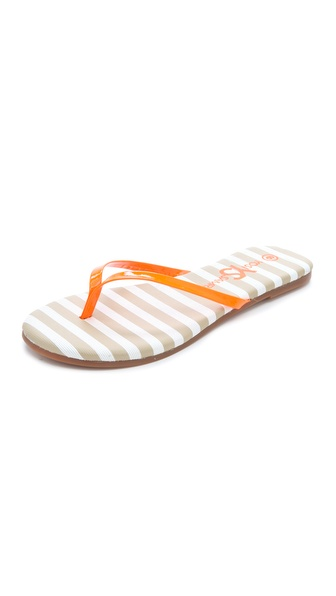 Yosi Samra Neon Flip Flops