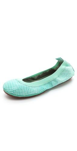Yosi Samra Reptile Ballet Flats