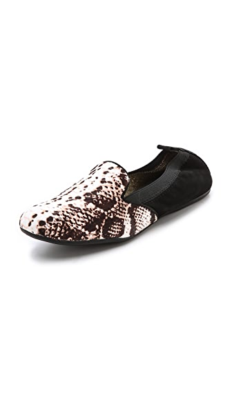 Yosi Samra Haircalf Smoking Slippers