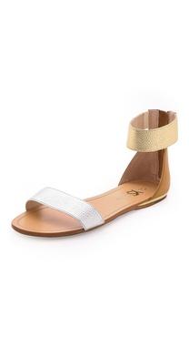 Yosi Samra Cambelle Flat Sandals