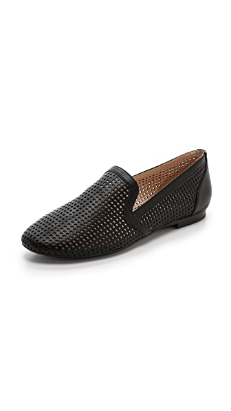 Yosi Samra Preslie Perforated Flats