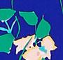 Dodger Blue Vintage Garden