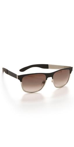 Yves Saint Laurent Colorblock Sunglasses