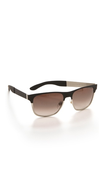 Yves Saint Laurent Colorblock Sunglasses