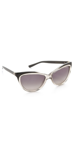 Yves Saint Laurent Exaggerated Cat Eye Sunglasses