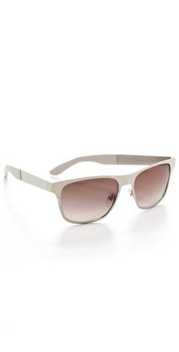Yves Saint Laurent Metal Colorblock Sunglasses
