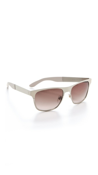 Yves Saint Laurent Metal Colorblock Sunglasses