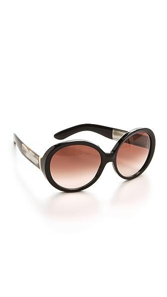 Saint Laurent Oversized Round Sunglasses
