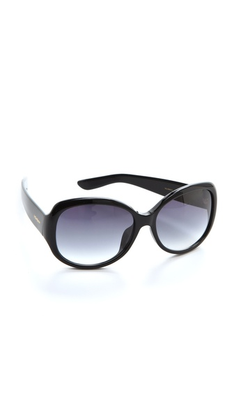 Yves Saint Laurent Round Sunglasses