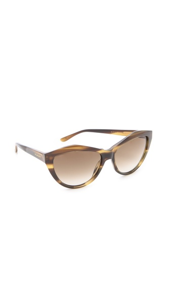 Yves Saint Laurent Sharp Cat Eye Sunglasses