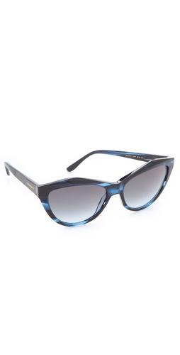 Yves Saint Laurent Sharp Cat Eye Sunglasses