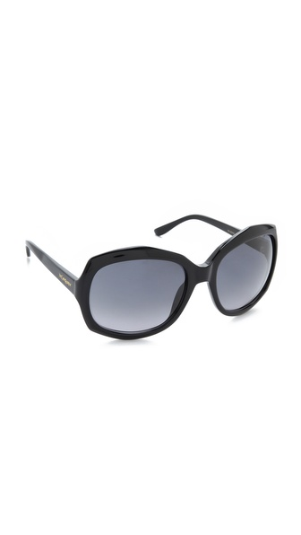 Yves Saint Laurent Oversized Rounded Square Sunglasses