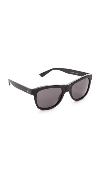Yves Saint Laurent Distressed Square Sunglasses