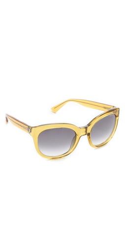 Yves Saint Laurent Translucent Cat Eye Sunglasses