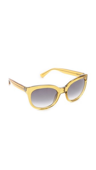 Yves Saint Laurent Translucent Cat Eye Sunglasses