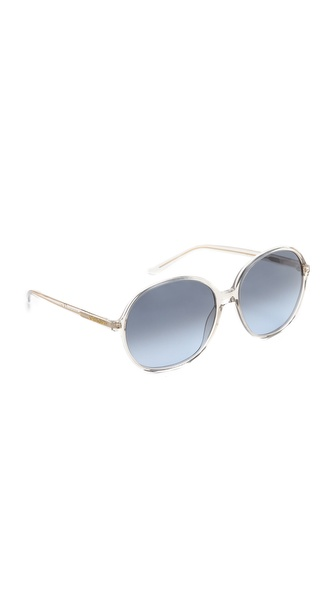 Yves Saint Laurent Oversized Round Sunglasses