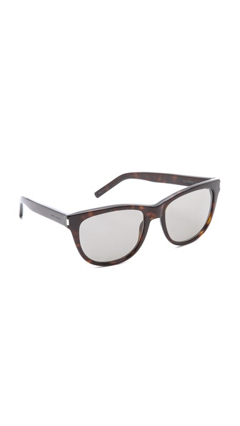 Saint Laurent Classic Preppy Rounded Sunglasses
