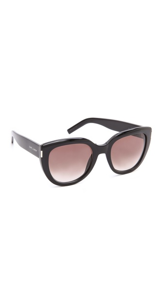 Saint Laurent Thick Frame Sunglasses